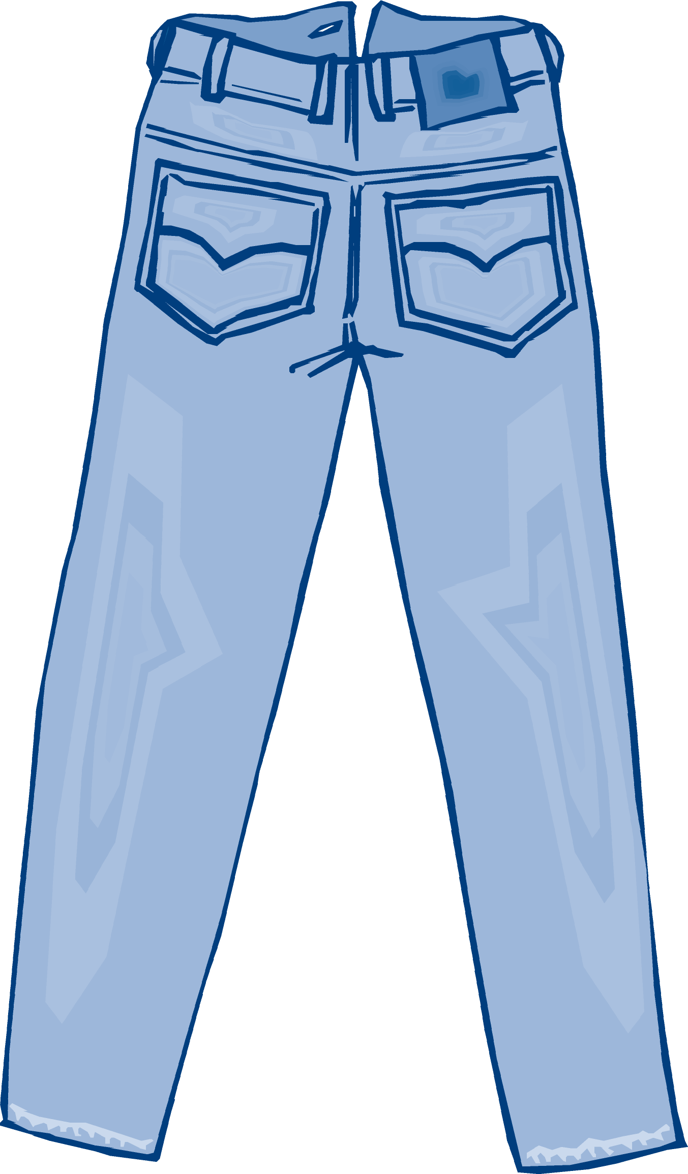Jeans clipart Denim Vector  Clipart art