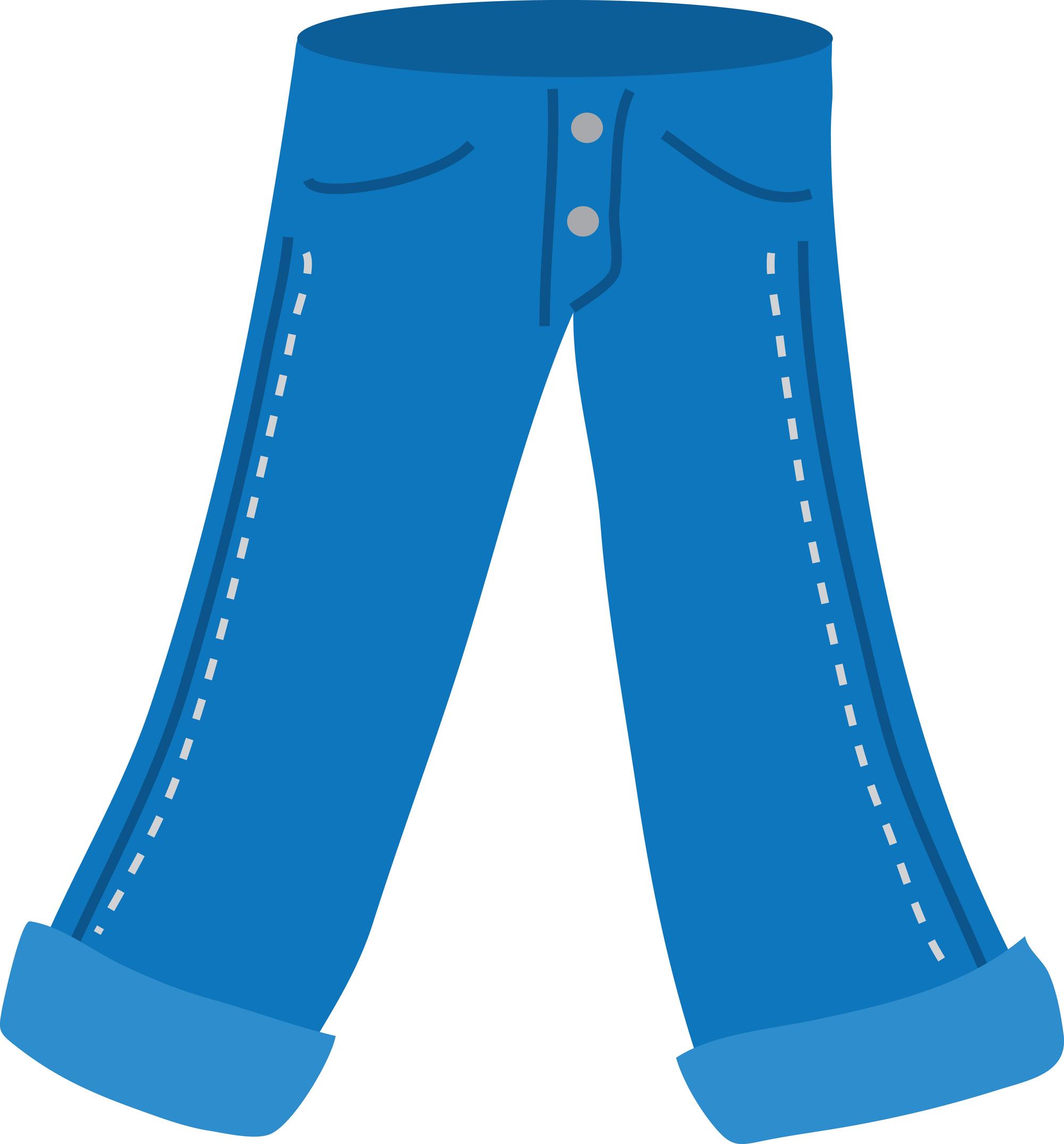 Jeans clipart Jeans Denim Clipart