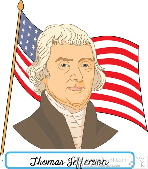 Presidents clipart jefferson Thomas  flag jefferson 108