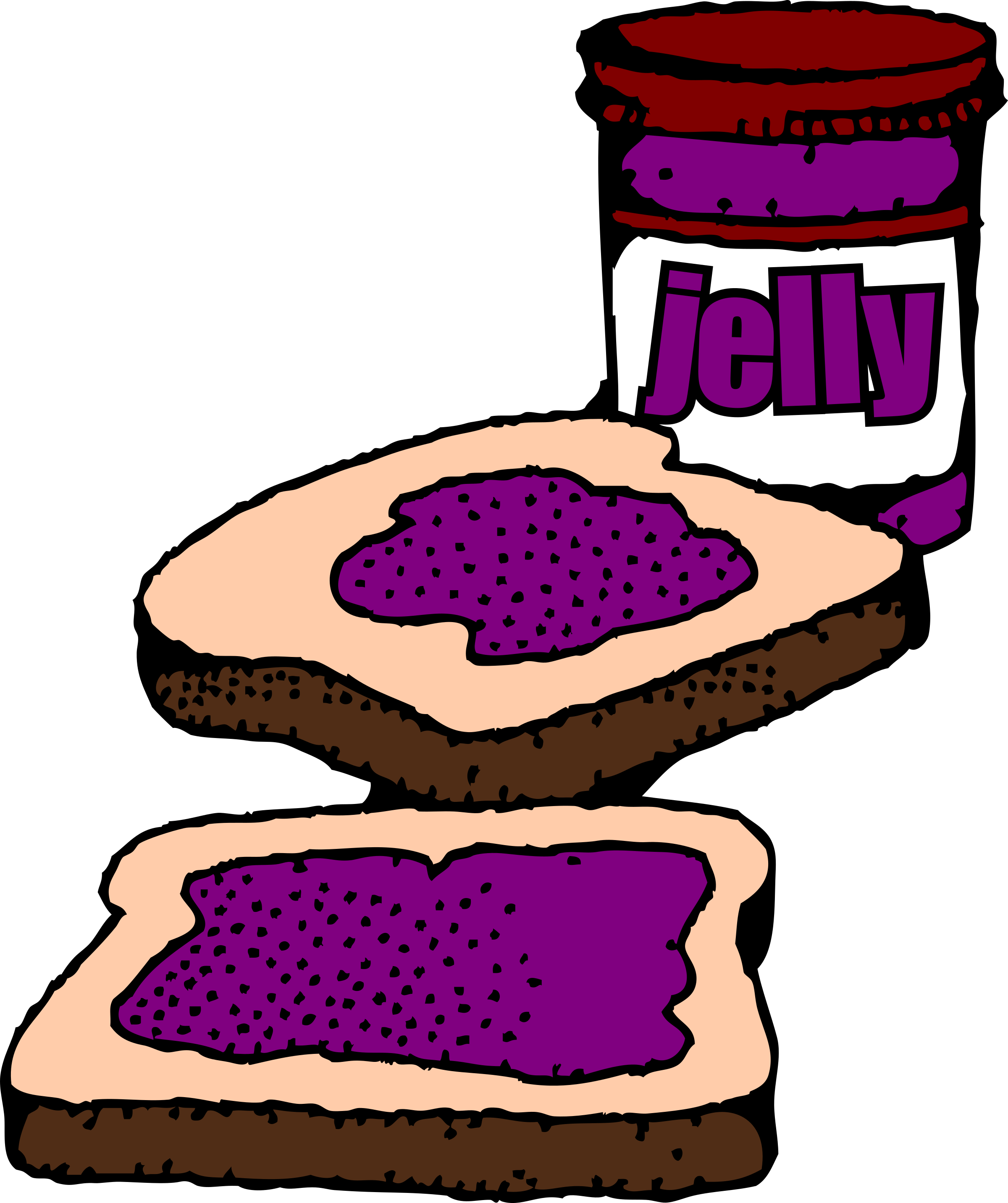 Jellie clipart Clipart Jelly peanut Peanut Time