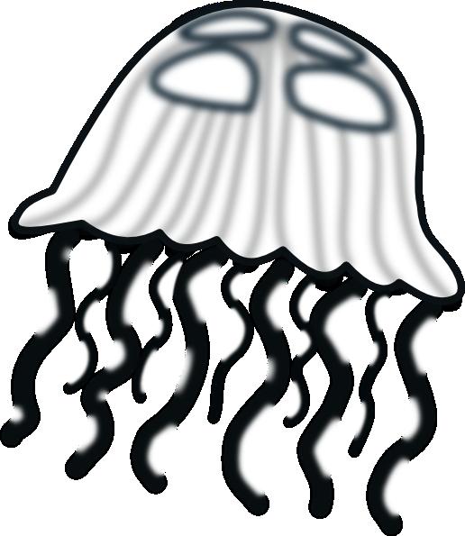Sea Life clipart jellyfish #7
