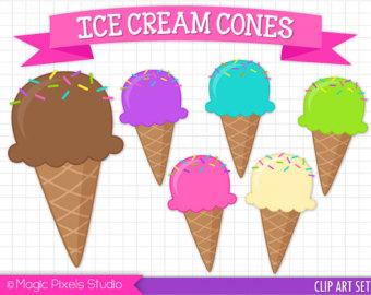 Cone clipart ice drop Ice cream Cream cone Personal