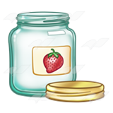 Jam clipart jar lid Empty Jam Abeka Strawberry lid