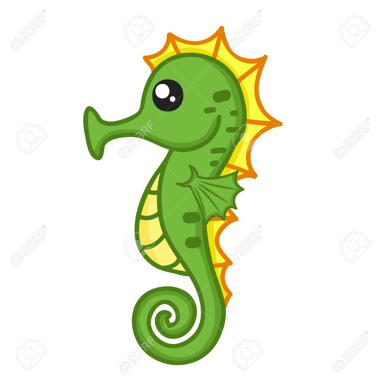 Seahorse clipart disney #2