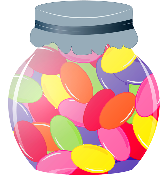 Jelly Beans clipart Jar on download WikiClipArt bean