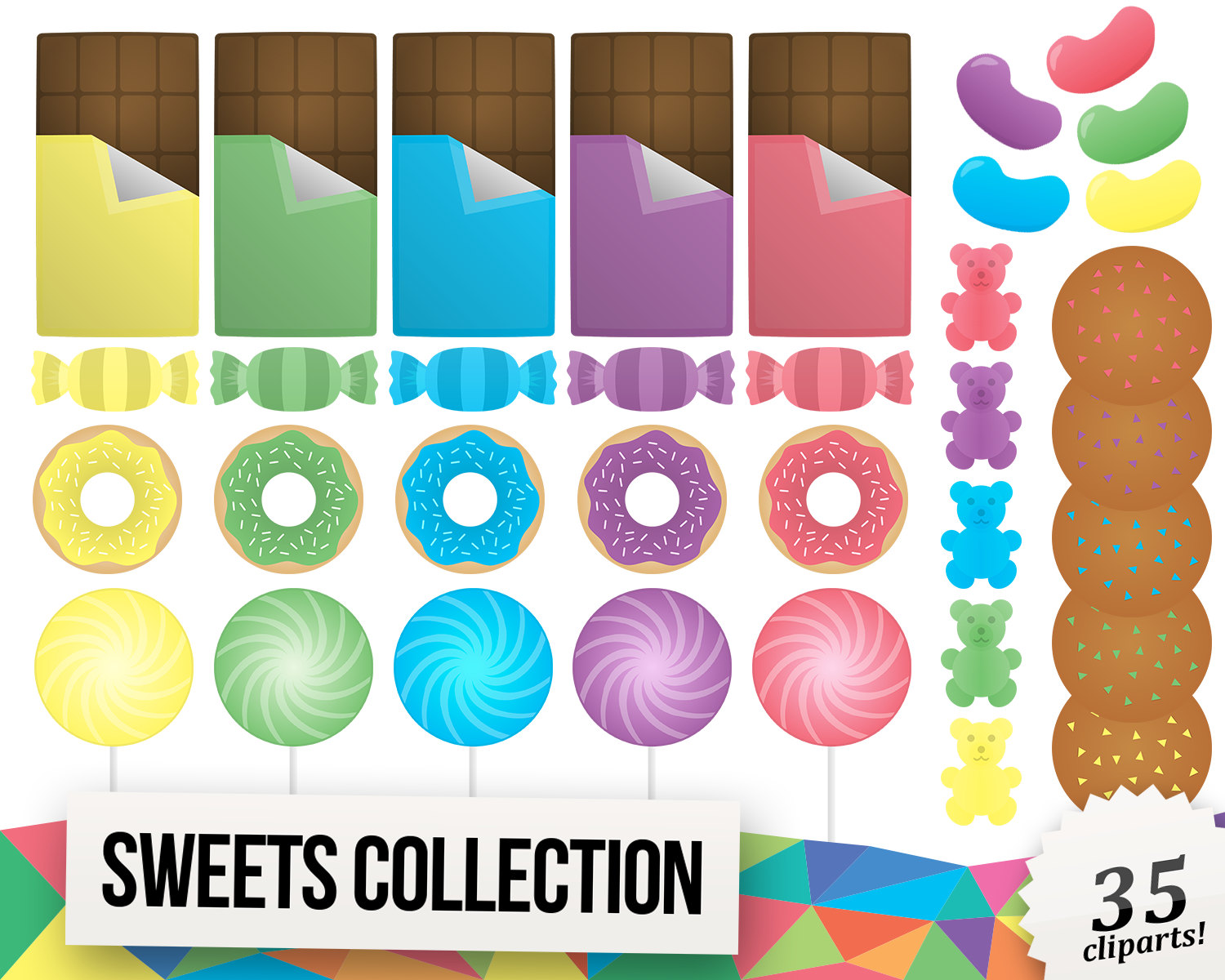 Jelly Bean clipart candy This Chocolate Clipart is file