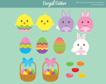 Jelly Bean clipart easter candy Jelly Easter Clip Instant Jelly