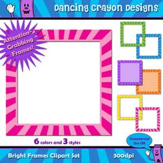 Jelly Bean clipart frame And Clip Sweet Frames and