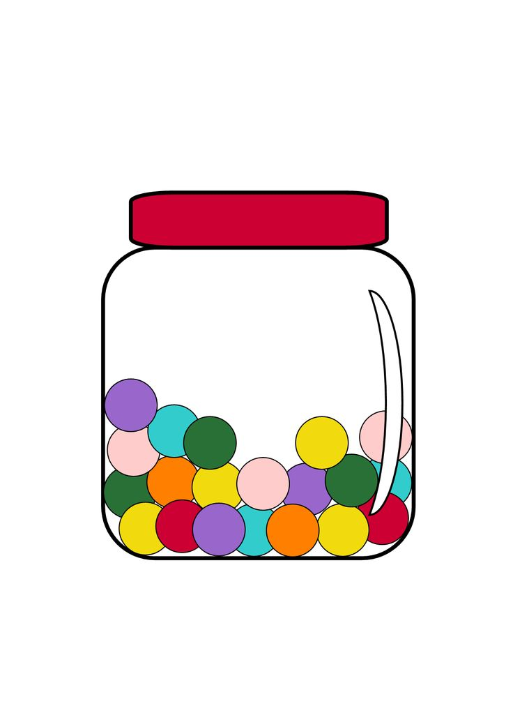 Jelly Bean clipart lolly jar Clipart To Free Image Candy