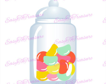 Jelly Bean clipart lolly jar And Jelly JPEG Candy Digital