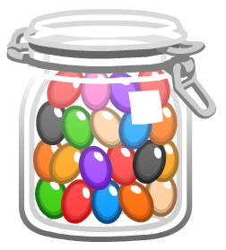 Jelly Bean clipart lolly jar Png of Candy png Jar