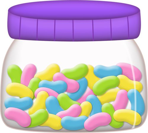 Bean clipart jelly bean jar On easter WikiClipArt on happy