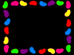 Jelly Bean clipart background #1