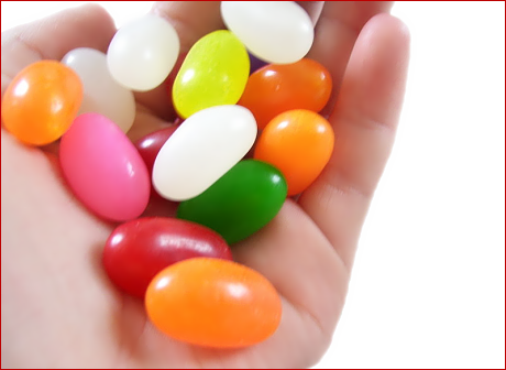 Jelly Bean clipart bag sweet Art Hand Jelly Beans In
