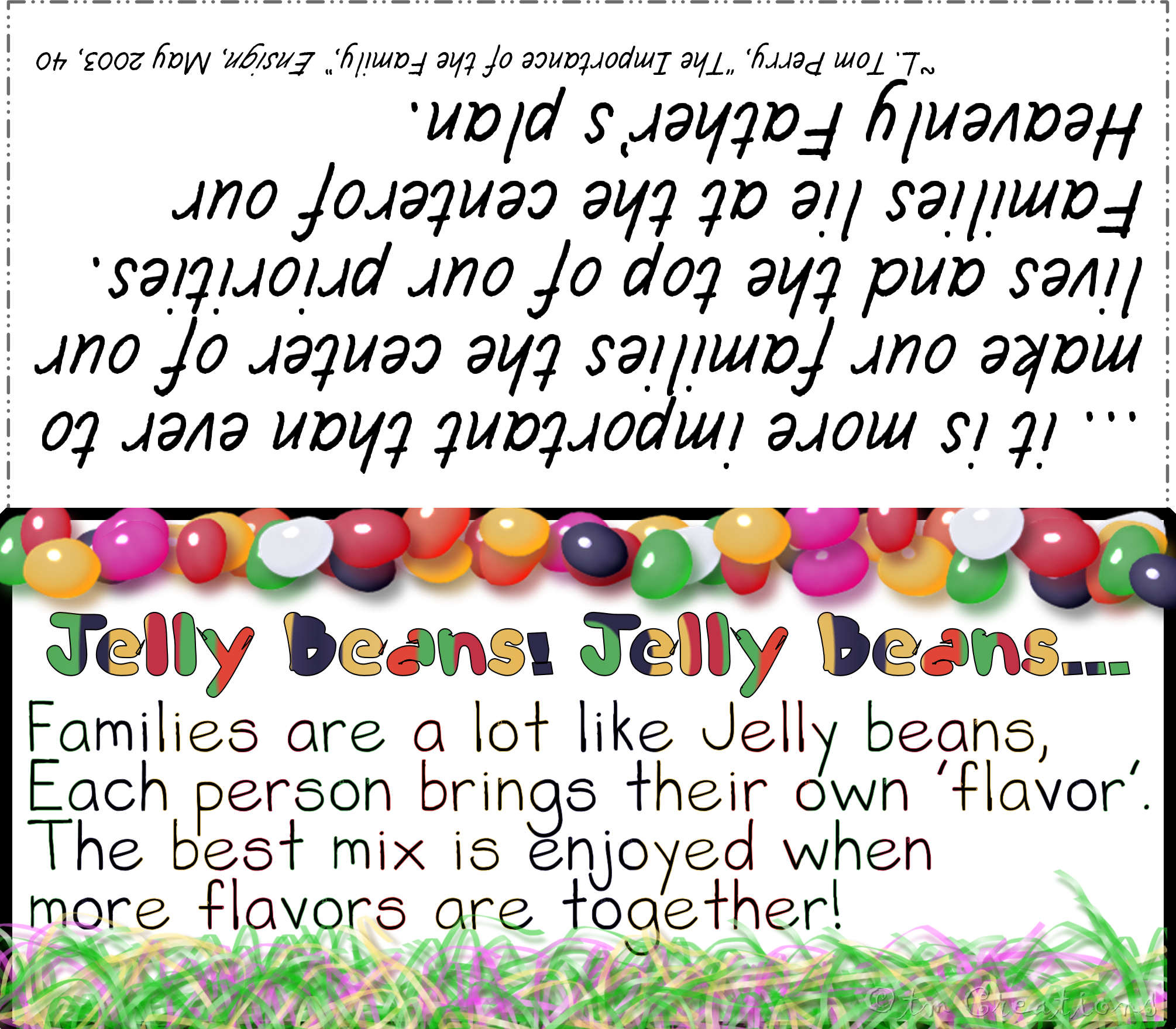 Jelly Beans clipart bean person Jelly tlm1 Mormon jelly beans