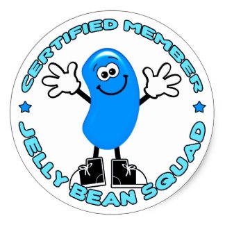 Jelly Bean clipart blue Classic Blue Bean Round Bean