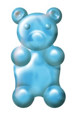 Gummy Bear clipart blue Clip png Candy (35) CaliDesign_31O_Elements