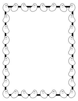 Jelly Bean clipart frame Clip and Dancing Art Clip
