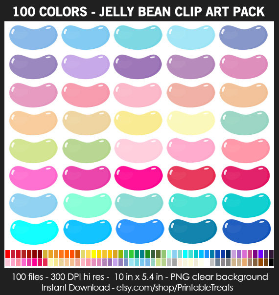 Jelly Bean clipart background #6