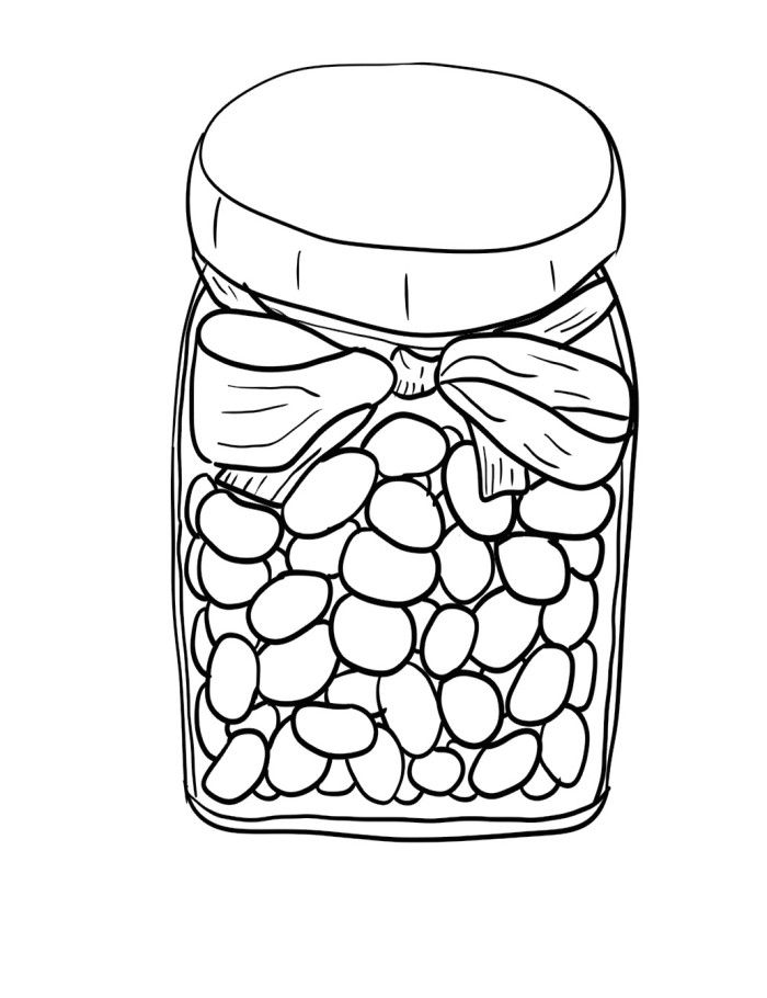 Drawn jar Pages Free best Pages Beans