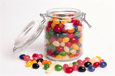 Jelly Bean clipart lolly jar Will Fired and the Many