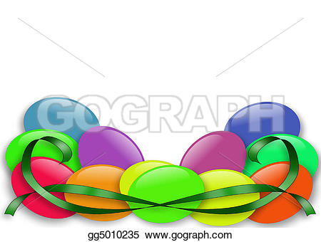 Jelly Bean clipart easter candy Border border bean Illustrations with