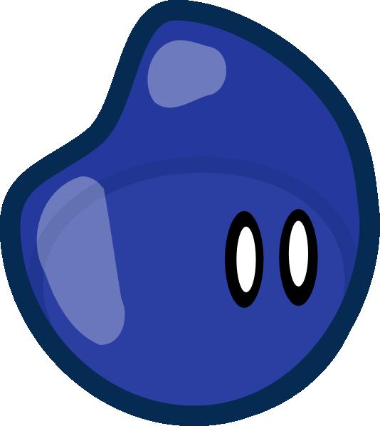 Jelly Bean clipart blue Blue Clip Clip domain art