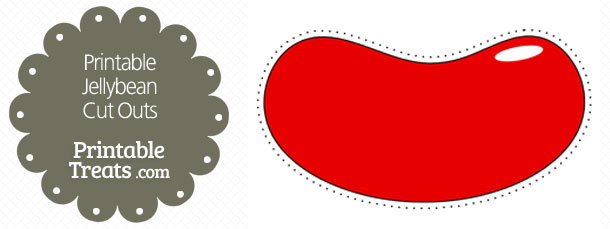 Jelly Bean clipart red Printable Cut Printable Outs Printable