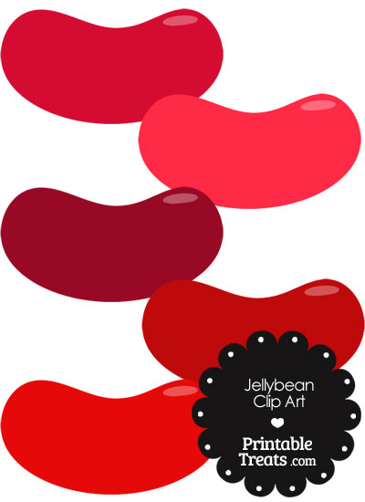 Jelly Bean clipart red Red clipart Treats Clipart Jellybean