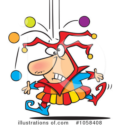 Jester clipart #1058408 (RF) Illustration Clipart Ron