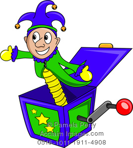 Toy clipart jester #1