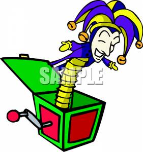 Toy clipart jester #3