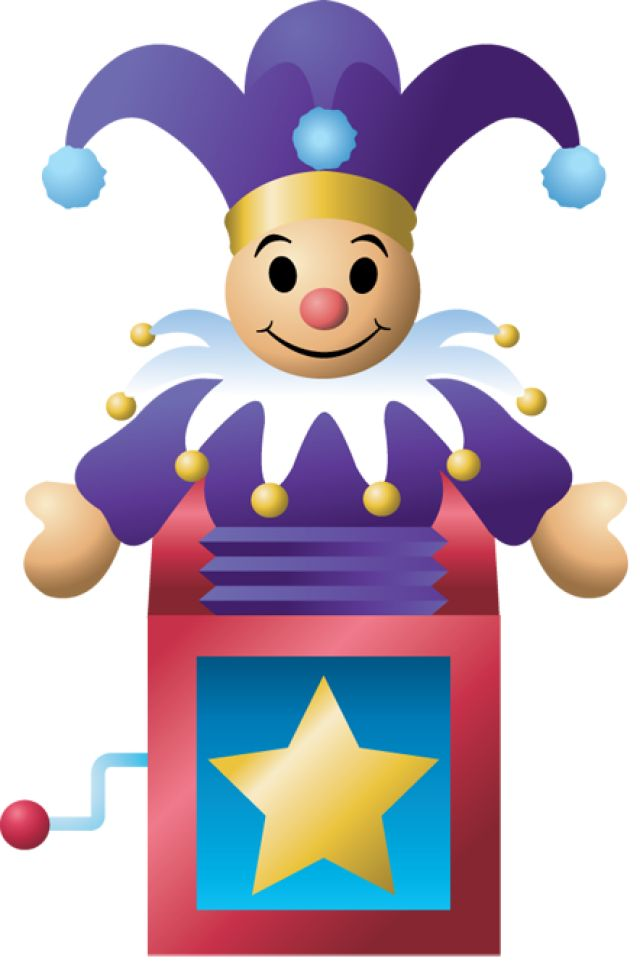 Toy clipart jester #2