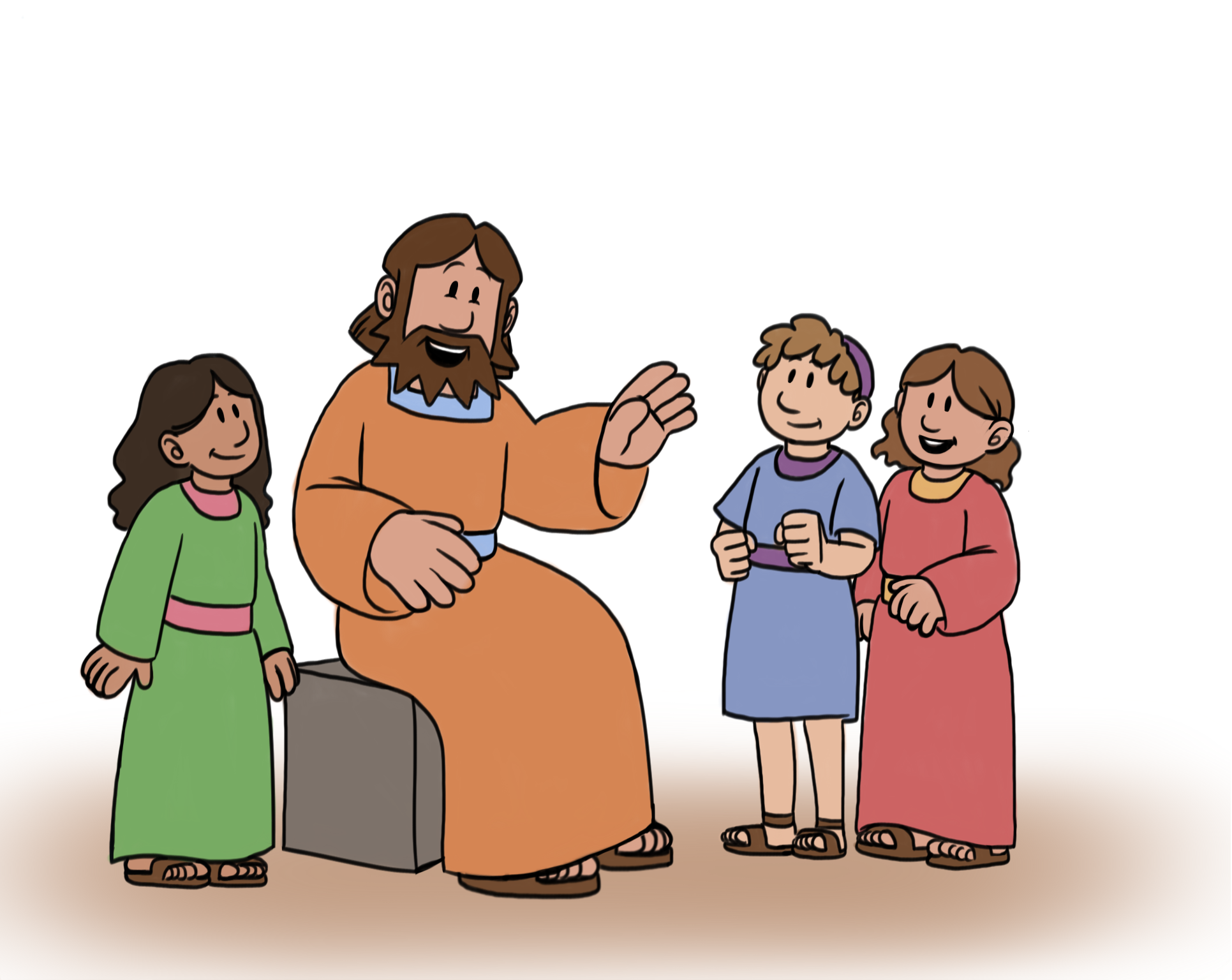 Jesus clipart Jesus And Children Clipart And art Clipart jesus collection