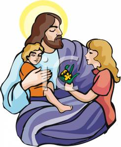 Jesus clipart Jesus And Children Clipart Clip Panda Jesus Children Images