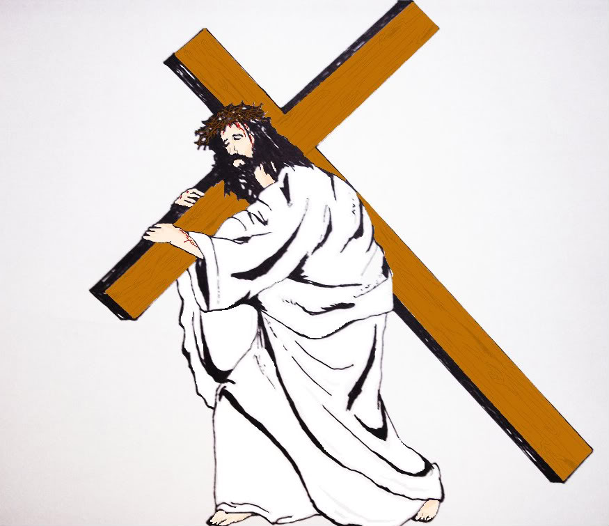 Jesus clipart Jesus On The Cross Clipart Cross jesus Clipart cross Jesus