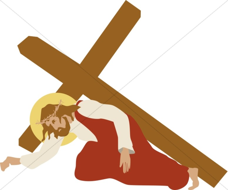 Jesus clipart Jesus On The Cross Clipart The of of Stations the