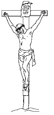 Jesus clipart Jesus On The Cross Clipart The of Clipart Vintage jesus