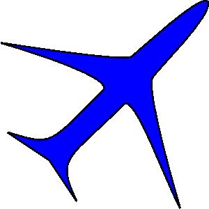 Jet clipart aeroplan Blue Clker Freight Plane Clip