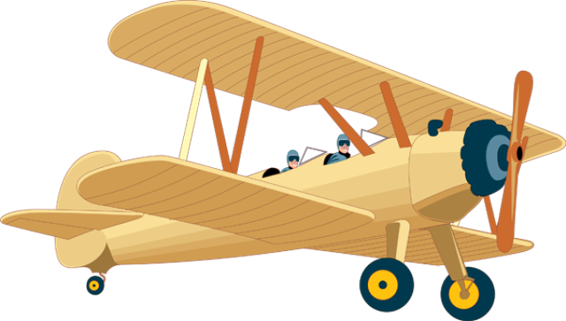 Jet clipart air transportation Airplane Art Vintage Art Airplane