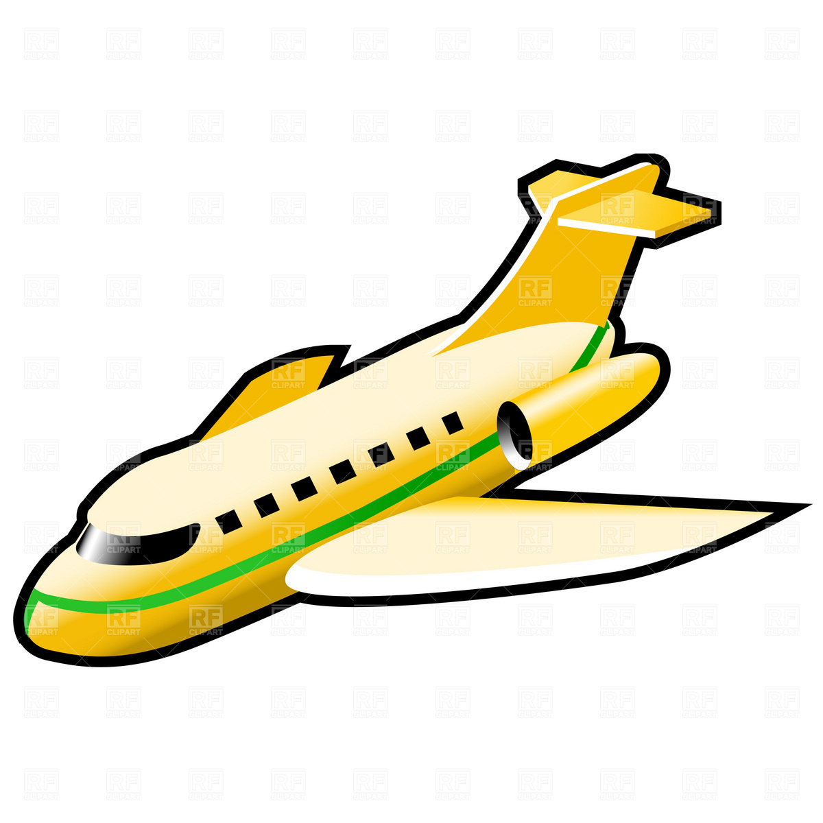 Jet clipart air transportation Airplane — Vintage (627) Airplane