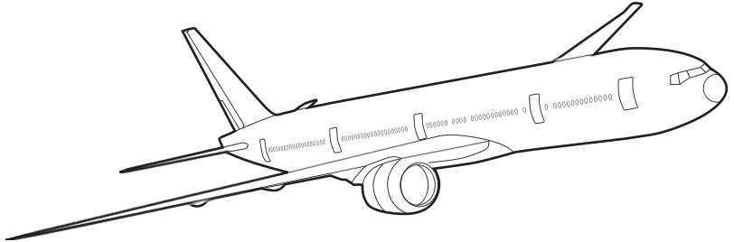 Jet clipart air transportation Transportation 777 Commercial cliparts Airplane
