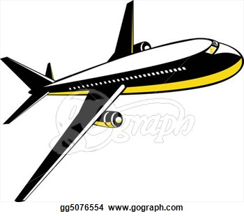 Jet clipart air transportation Art – Jet In In