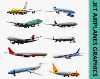 Airplane clipart scrapbook #3