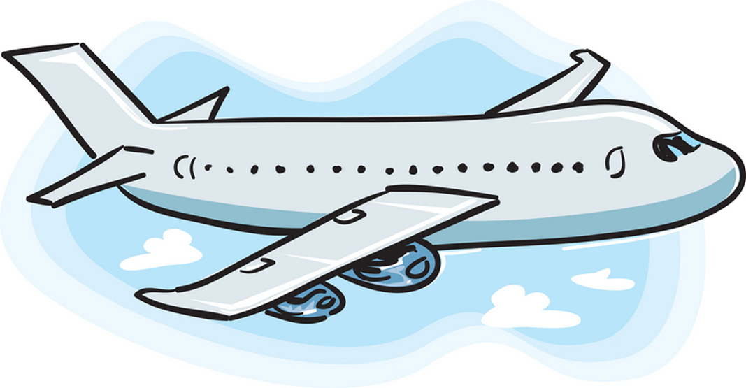 Departure clipart flew Background Clipart Airplane Panda No