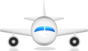 Airplane clipart side view In Airplane a Coming Image