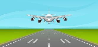 Airfield clipart plane runway Clip Plane Landing 191 Art