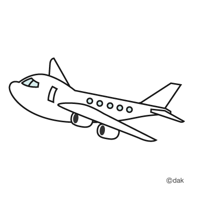 Aviation clipart black and white  Clipart takeoff Black And