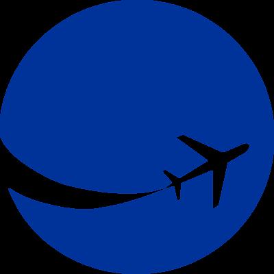 Aircraft clipart blue airplane #6