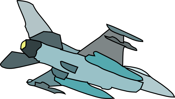 Jet clipart army plane Clker image  vector at